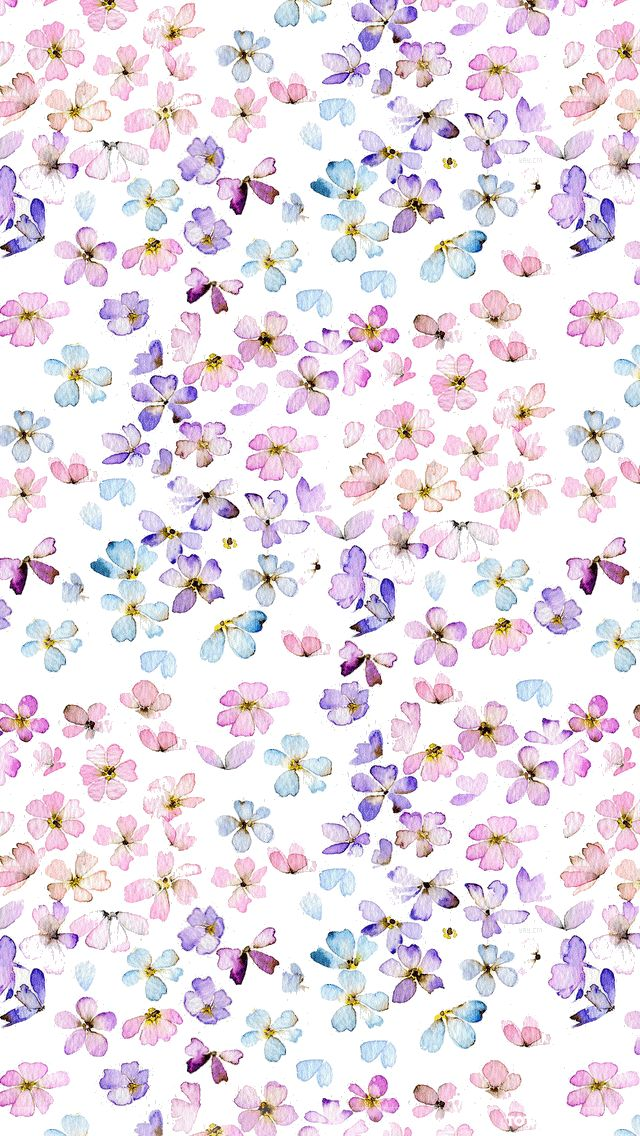 きれいな花柄iPhone壁紙 Wallpaper