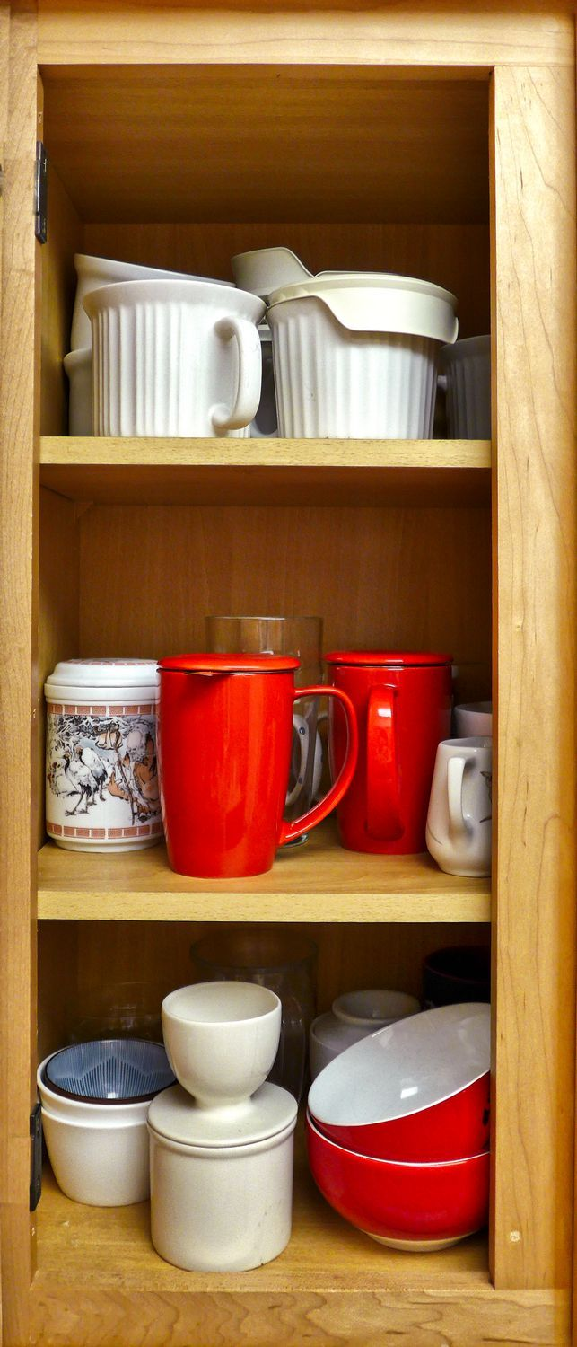 In my kitchen cabinet  - by Tony Karp – http://timuseum.com