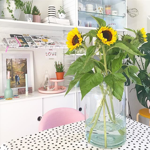 Sunflowers for the wedding anniversary we celebrated yesterday // Girasoli per l'anniversario di matrimonio festeggiato ieri