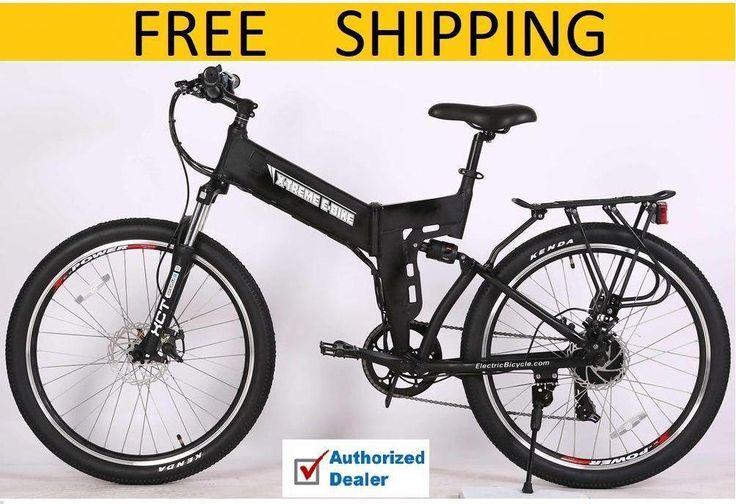 NEW 2018 XTreme XCursion ELITE Folding Electric Bike