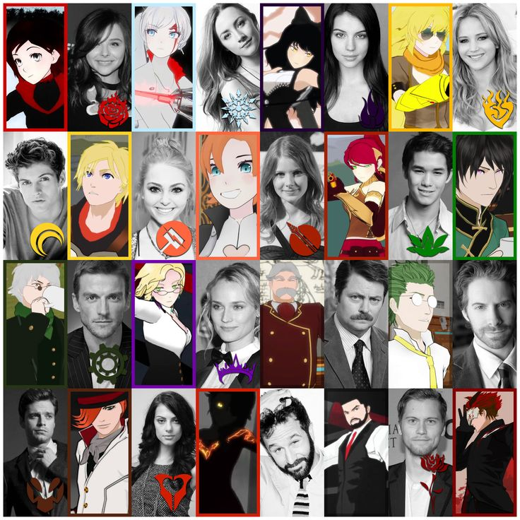 RWBY LIVE! Action CAST by hjpenndragon... The voice of Lie Ren is not Booboo Stewart, it is Monty Oum.