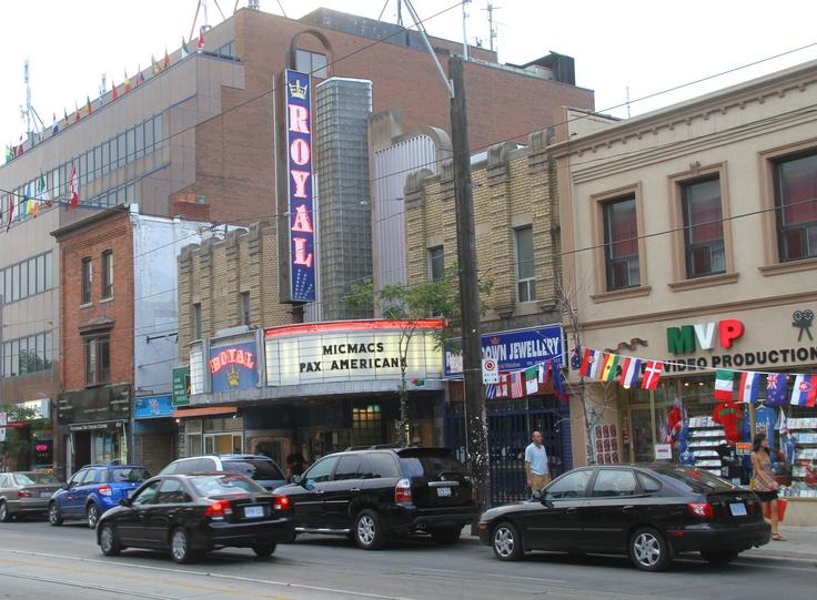 Royal Cinema on College Street, Toronto, Ontario, Canada