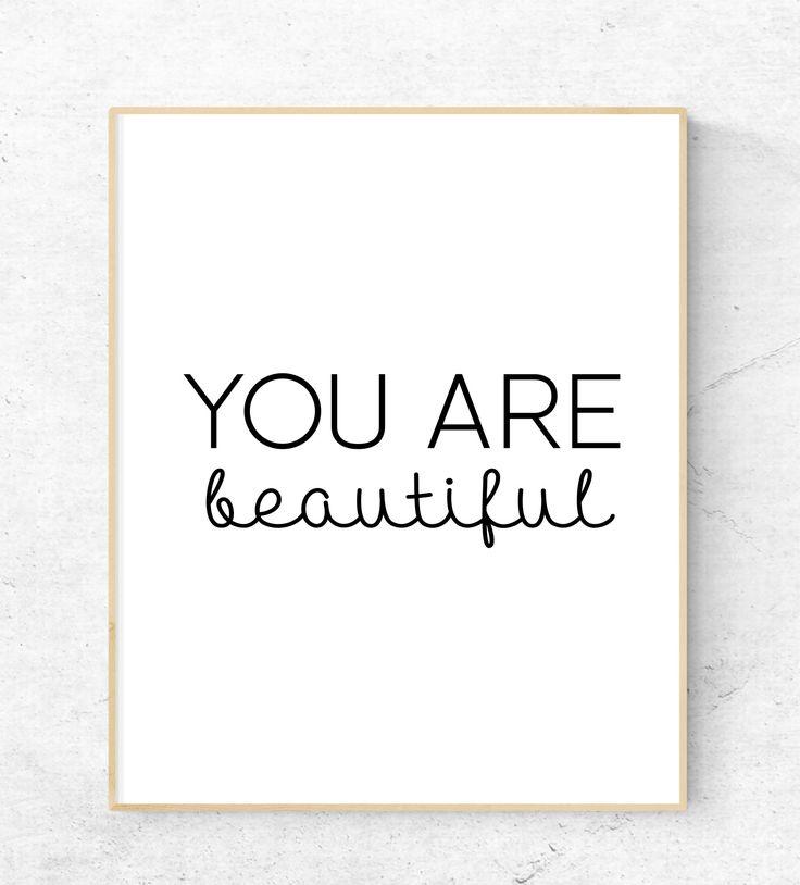 You are Beatiful