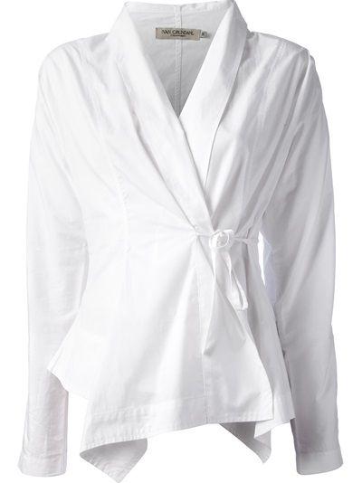 IVAN GRUNDAHL Wrap Shirt