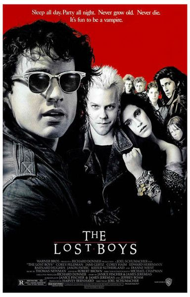 It's fun to be a Vampire! A great poster from the classic movie The Lost Boys - without it, there'd be no Twilight or True Blood! Ships fast. 11x17 inches. Need Poster Mounts..?