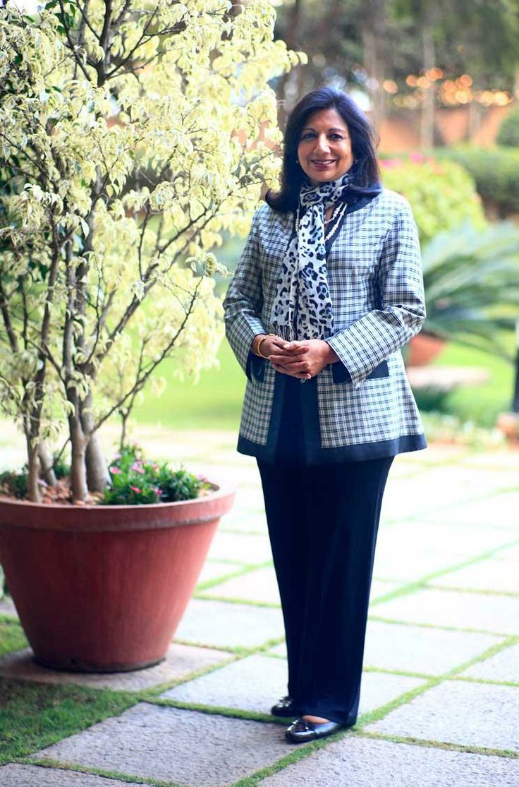 The wealthiest self-made woman in India, Kiran Mazumdar-Shaw founded and runs biotech firm, Biocon, which makes affordable drugs for everything from head and neck cancers to diabetes.