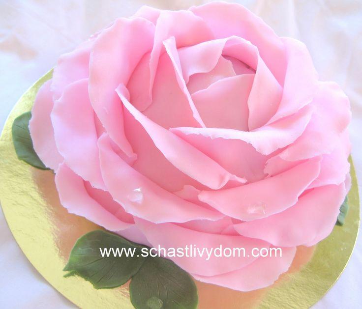 Торт мастер-класс букет роз
