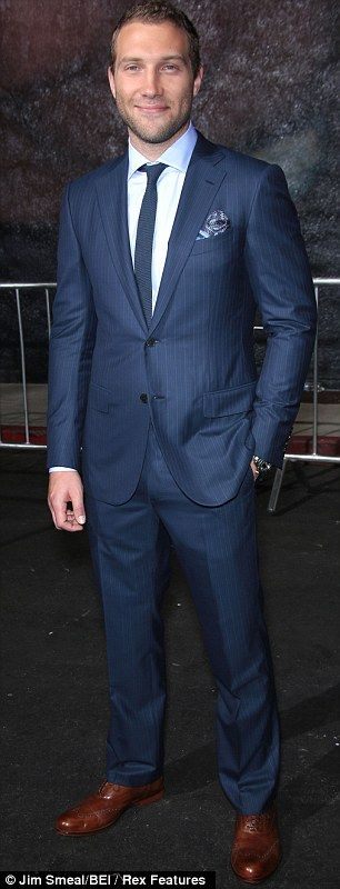 talk about suited and booted! this suit is so fresh