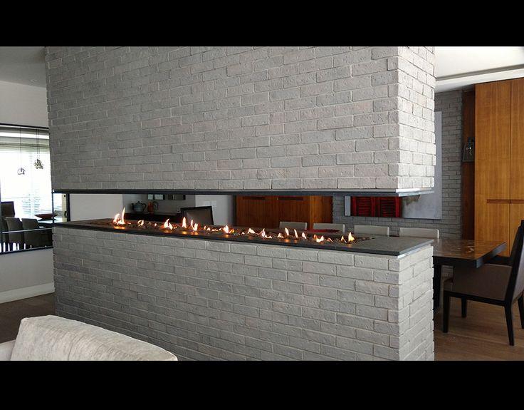 17 mejores ideas sobre chimeneas modernas en pinterest - Adaptar chimenea para calefaccion ...