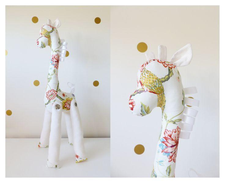 Mr/Mrs Long Neck giraffa Plushie Sewing Pattern di InkedPixels