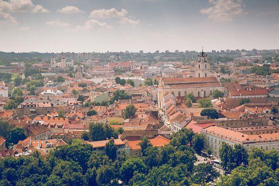 Panorama Vilnius by MalgoS