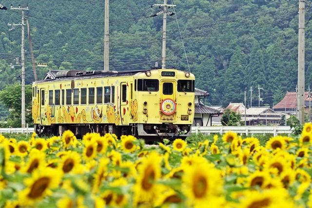 はばタン列車(JR姫新線) Habatan Train, JR Kishin Line