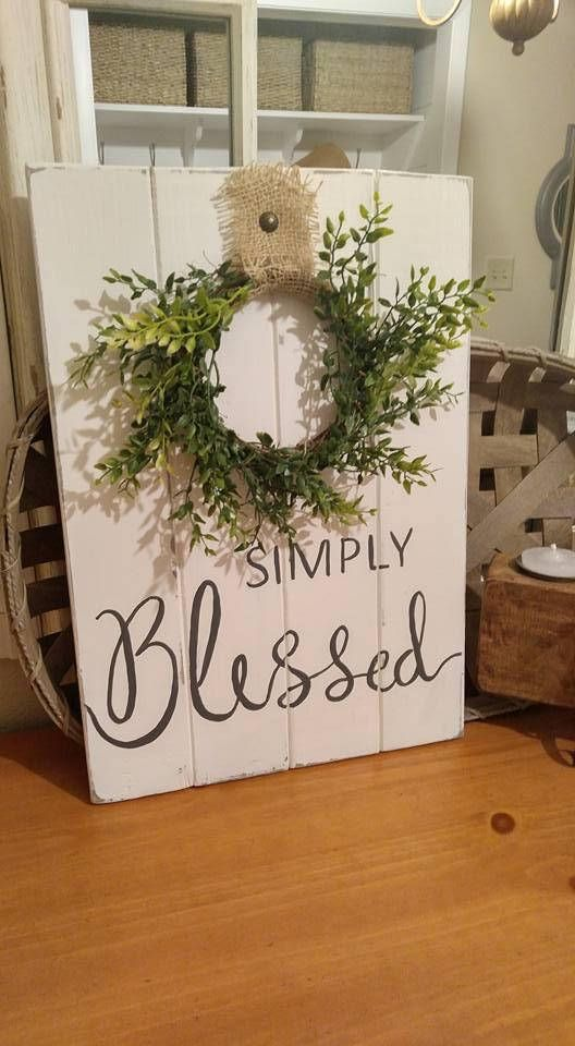Farmhouse Style Simply Blessed Coastal Farmhouse Rustic