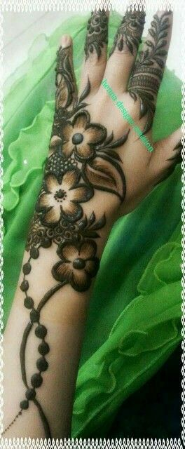 Beautiful Mahandi design.
