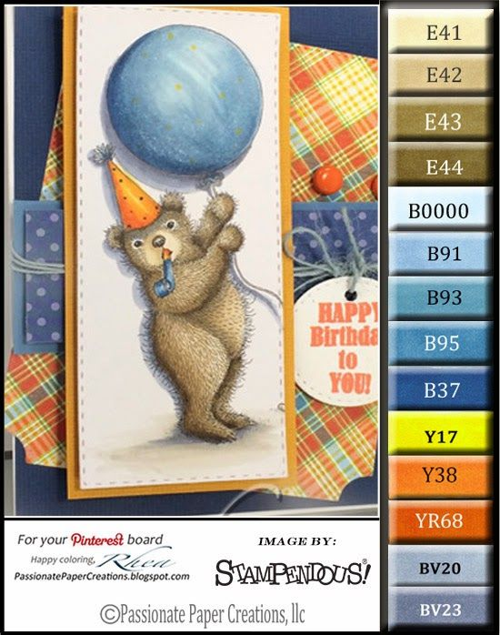 88 best Cards - House Mouse - Copic coloring images on Pinterest