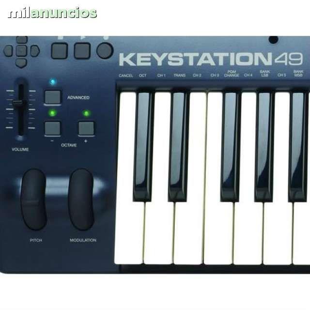 TECLADO MIDI M-AUDIO MKII KEYSTATION 49 - 75$ Jerez