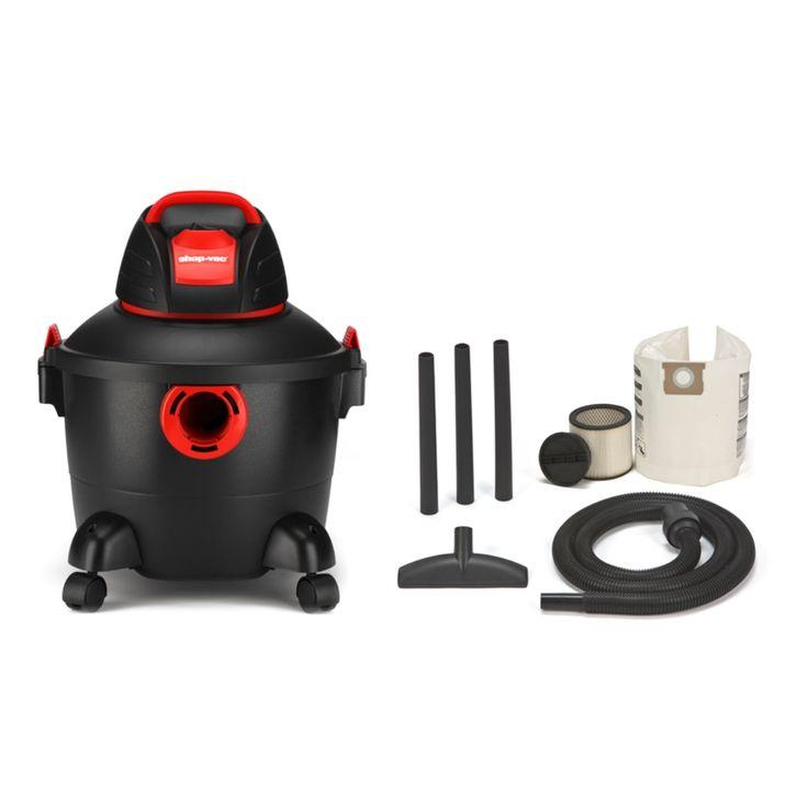 Shop Shop-Vac 6-Gallon 3-Peak HP Shop Vacuum at Lowes.com