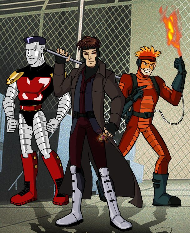X men Evolution Acolytes by insectikette.deviantart.com on @DeviantArt