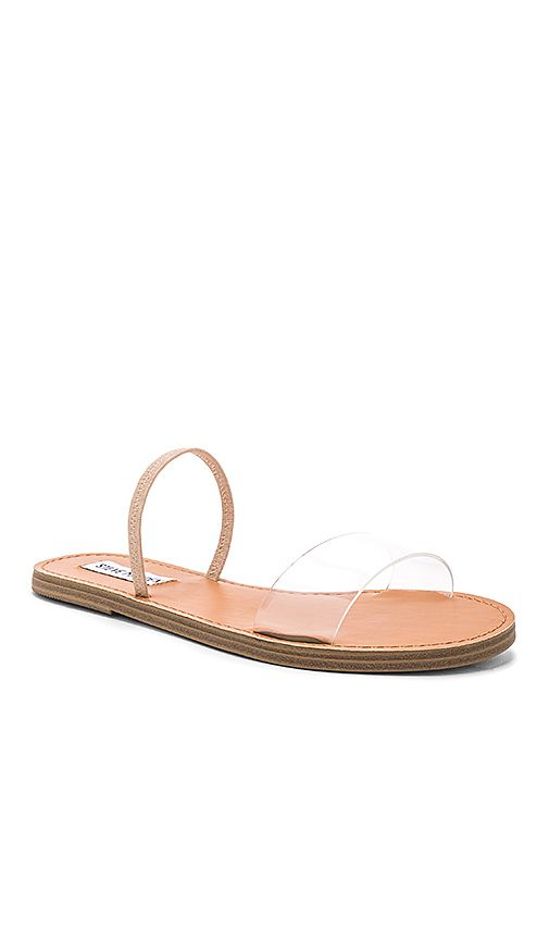 4e83cc56d867 Shop for Steve Madden Dasha Sandal in Clear at REVOLVE. Free 2-3 day  shipping and returns