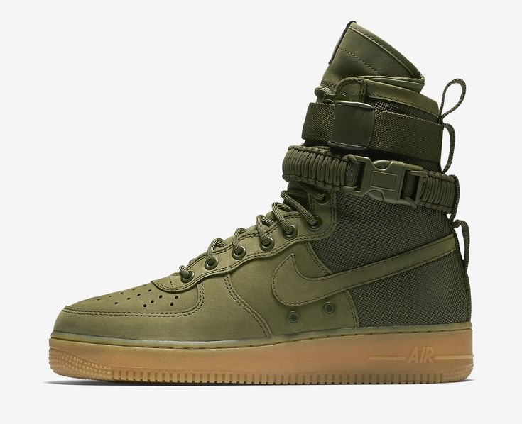 nike special field air force 1 sneakers in olive green nz
