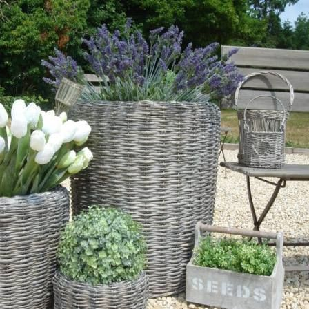 Large Willow Planter In The Garden Pinterest The