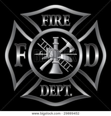 firefighter symbol Fire Department or Firefighter's