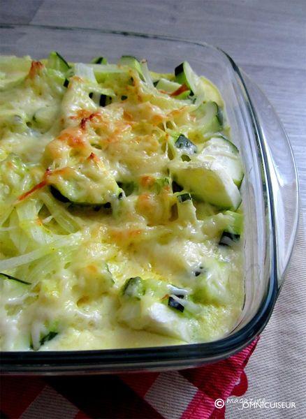 Clafoutis de courgettes au curry cuisson vapeur et infrarouge à l'Omnicuiseur