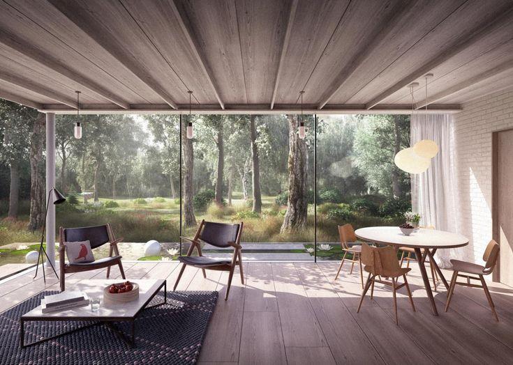Interieur Design Landhausstil Modernes Haus Florida. keukens ...