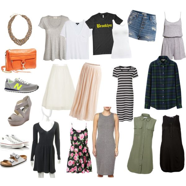 Nyc summer outfits by jasmine-adisbeth on Polyvore featuring мода, Equipment, T By Alexander Wang, Uniqlo, MANGO, American Vintage, Wolford, VILA, Elizabeth and James and H&M
