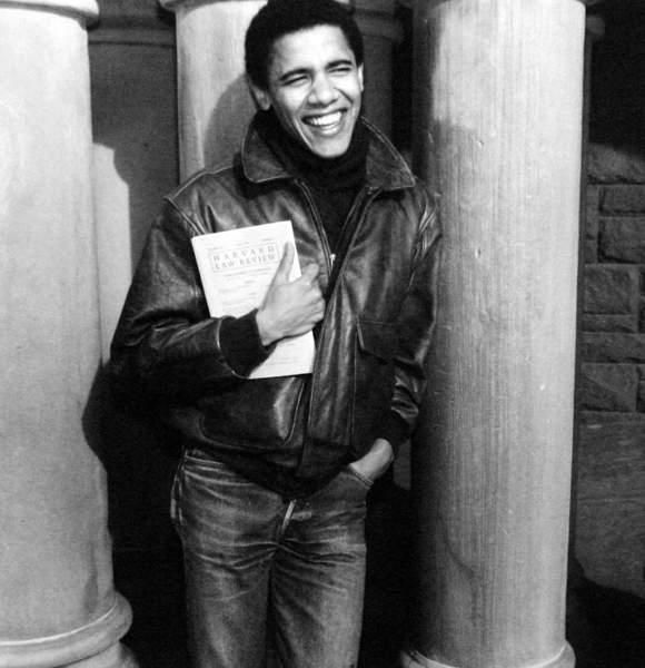 Obama. College Years...he was a cool looking dude...