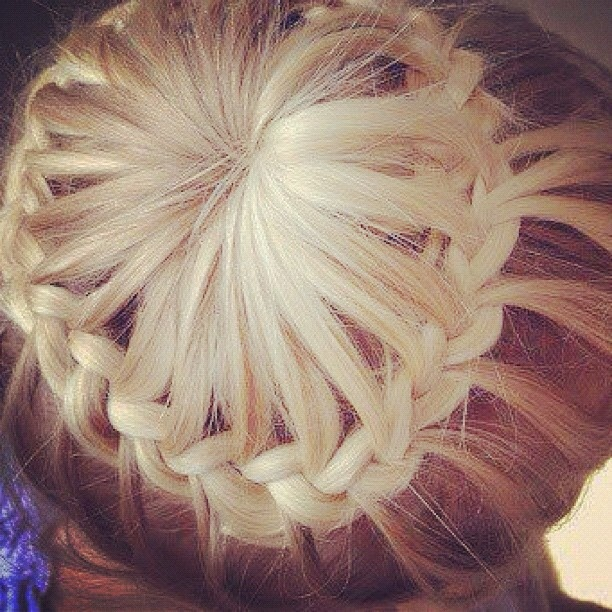 hair style hairstyle hairstyles braided bun hair