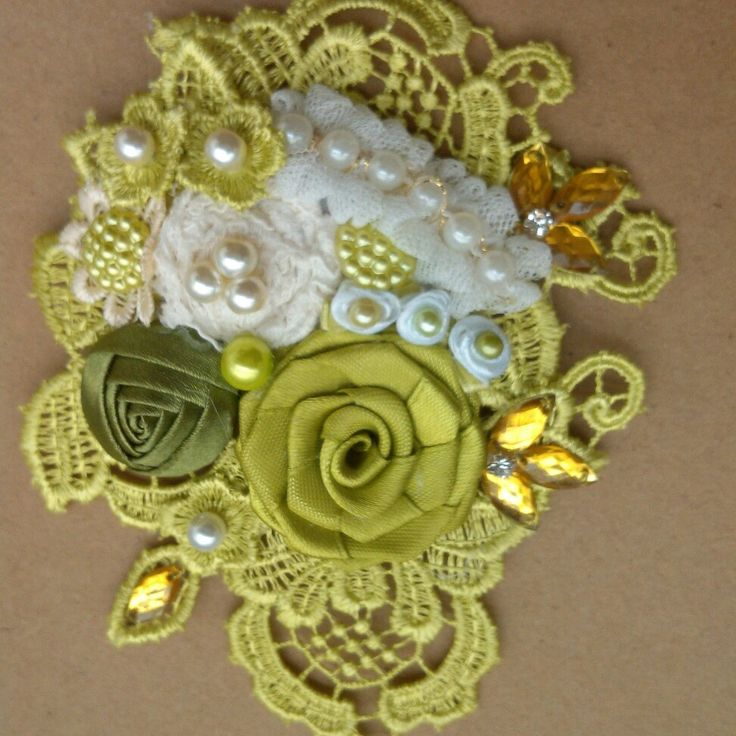 Brooch handmade    order by WA