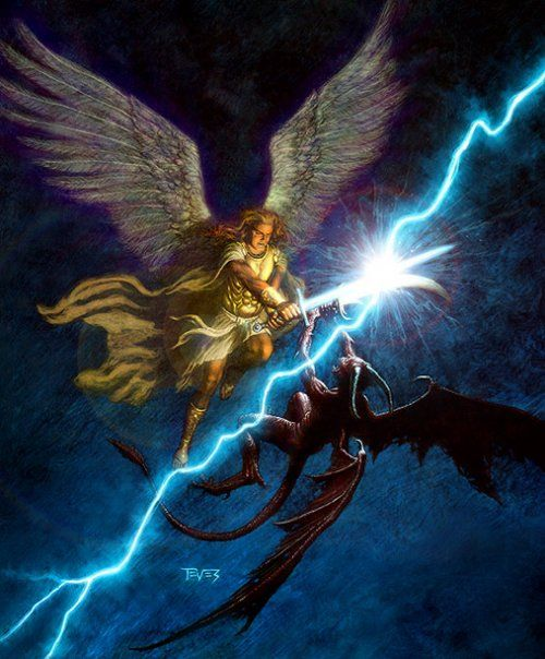 angels demons and god s act of In many of the world's religions, angels are spiritual beings who act as intermediaries between god and humans messengers of god, angels may.