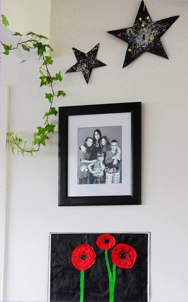 Karen´s house with family photos