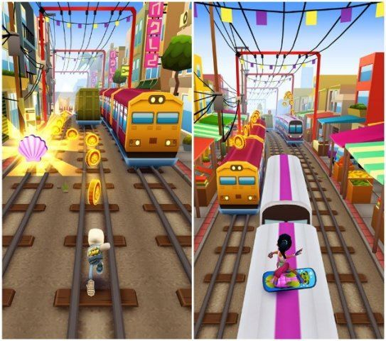 Tips for coins in subway surfers game #Subway_Surfers : http://subwaysurfers.co/
