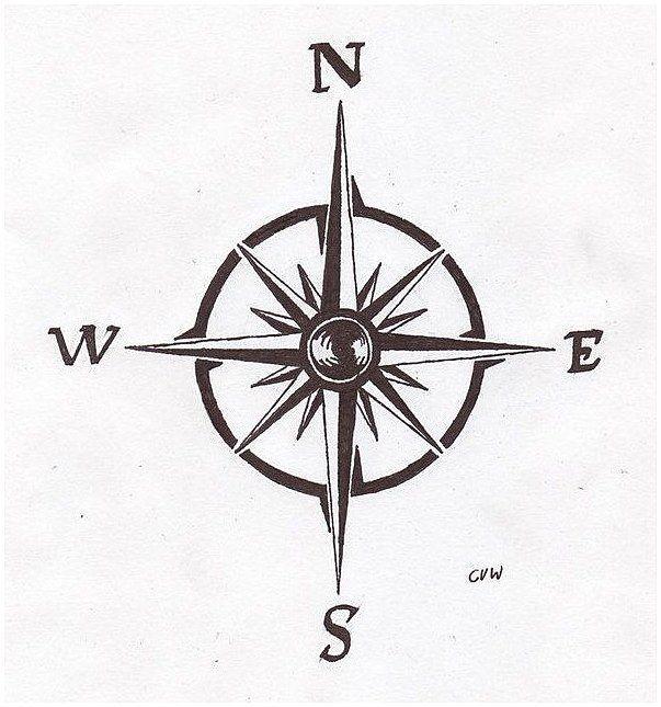 Notitle Tattoos Notitle Tattoos Kompass Tattoo