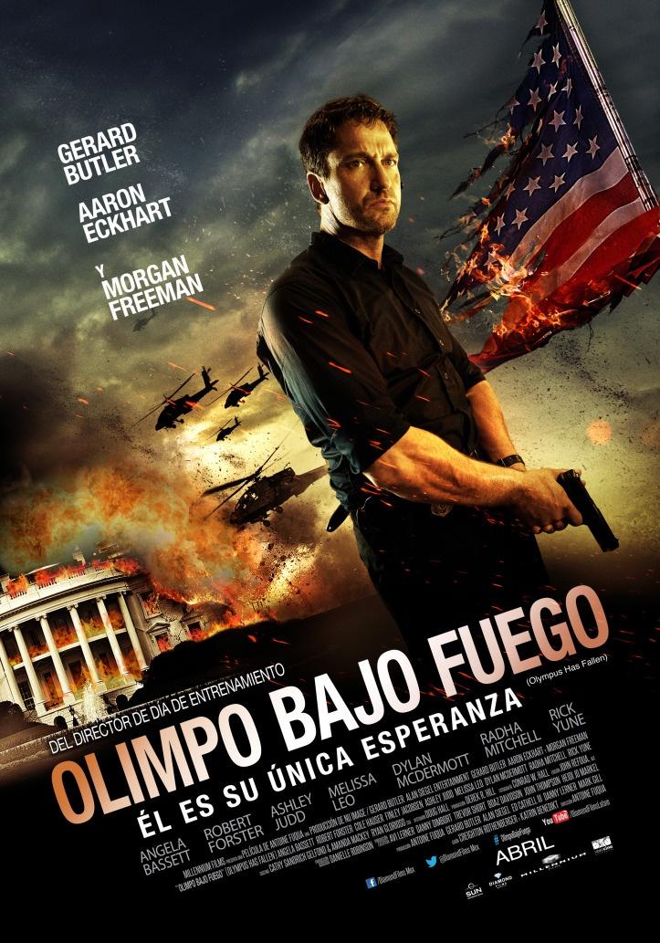 Olimpo Bajo Fuego Olympus Has Fallen La Casa Blanca Objetivo La Casa Blanca Poster De Peliculas