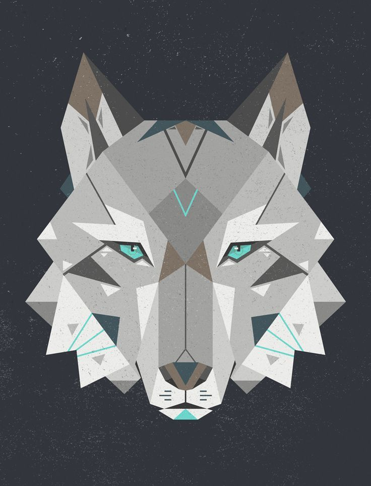 geometric wolf head - Google Search | awesome tattoos ...