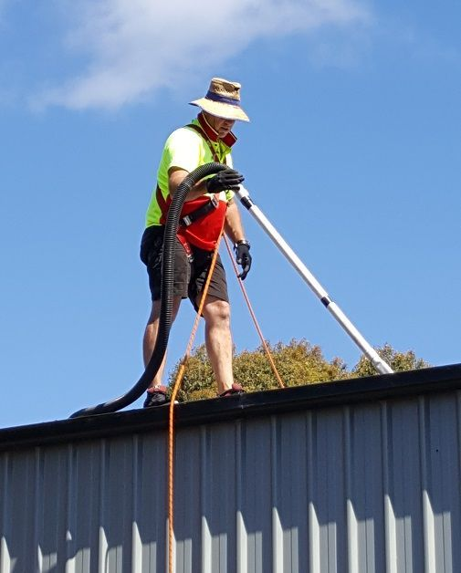 A quick snap from a busy day cleaning gutters in Tasmania!