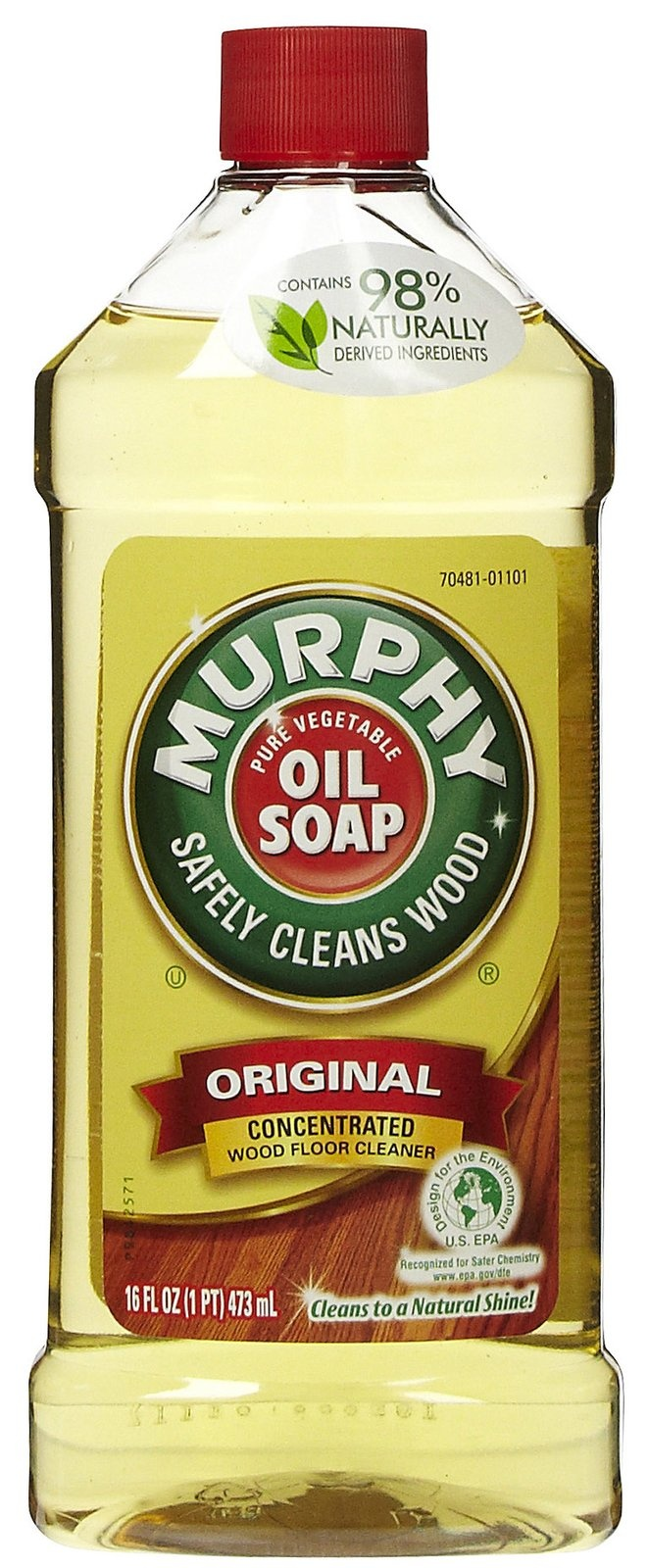 Great fresh scent! Breaks grease on cabinets and deters dust from gathering at a fast pace!