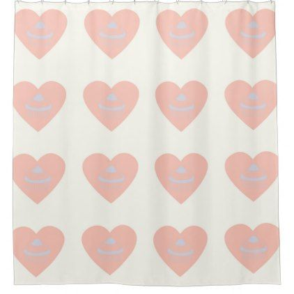 cupcake white pink shower curtain - pink gifts style ideas cyo unique