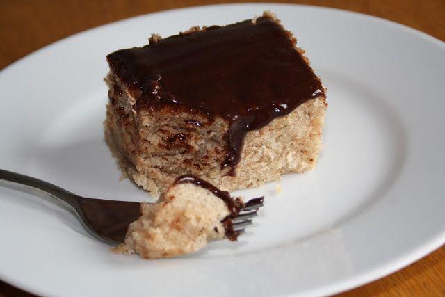 Veganeren: Saftig krydderkake med sjokoladeglasur