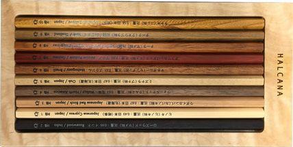 天然木100%の鉛筆 希少価値有 「樹木鉛筆」 HL-JE