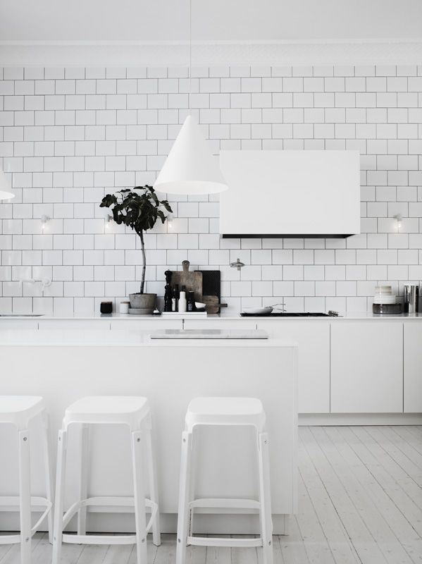 All White Kitchens best 25+ scandinavian kitchen island designs ideas on pinterest
