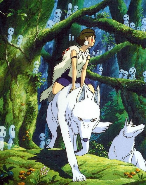 Princess Mononoke..