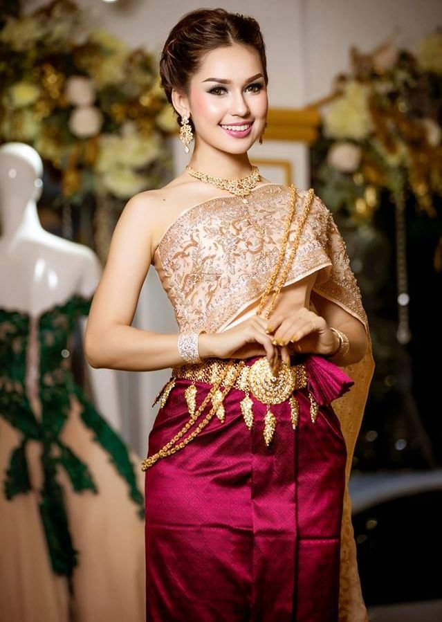 Khmer Wedding Dress for Party 2018