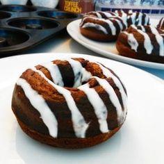Fitness čokoládové donuty - zdravý recept Bajola