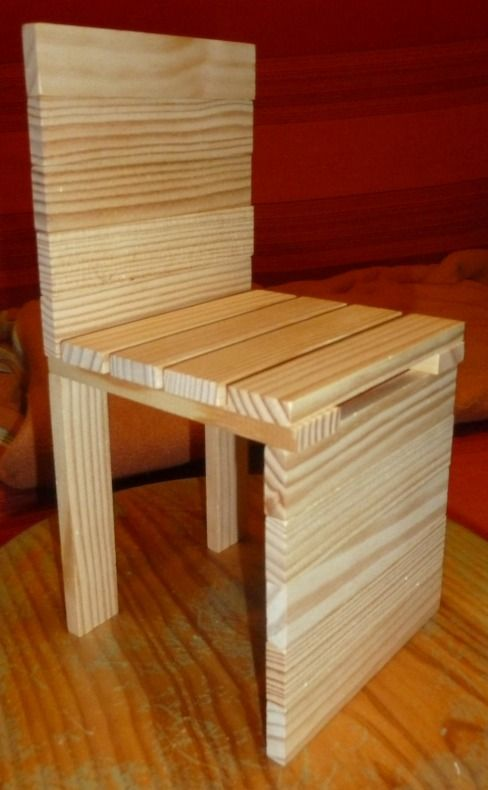 Kapla: stoel