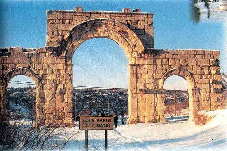 North city gate to Uzuncaburc Turkiye