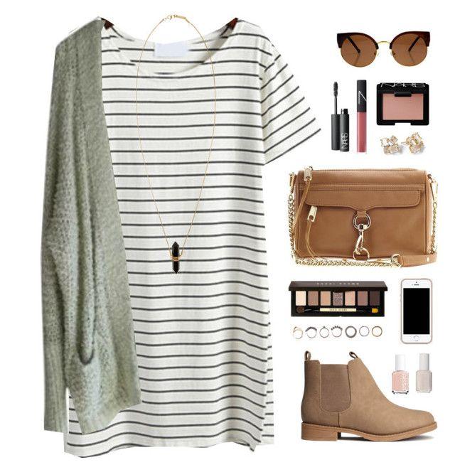 Vestido camisa listrado com botinha baixa e suéter alongado | Striped shirt dress, booties and sweater | Passeio casual |
